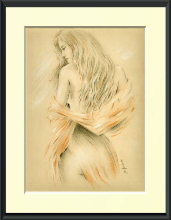 Eroticism and Art Nude Drawing Pastels